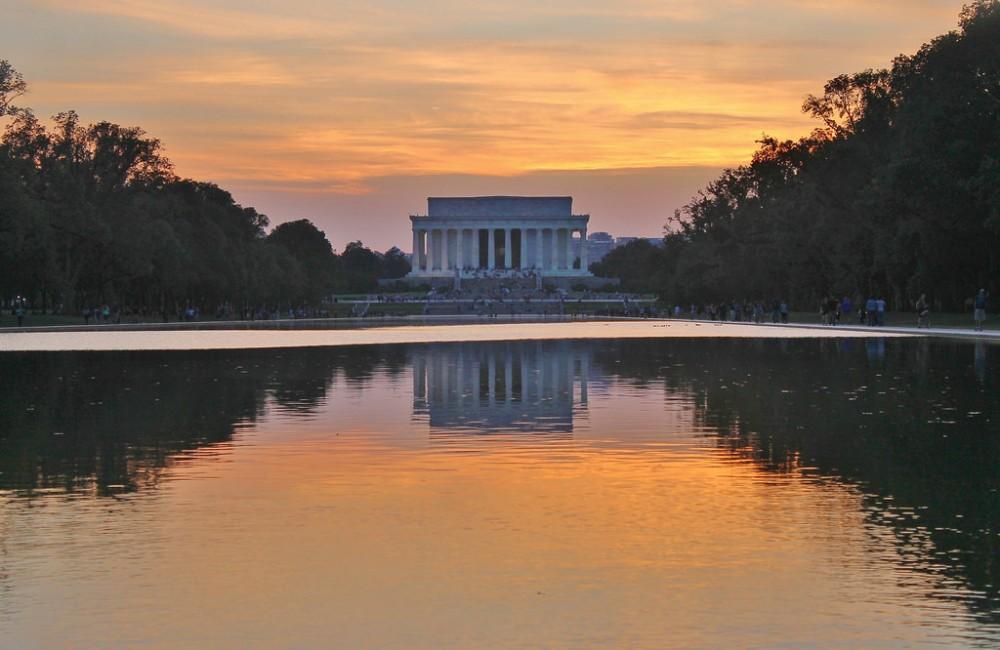 Lincoln Memorial Washington D.C USA ou partir en voyages
