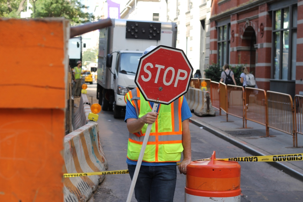 NEW York NY Worker say STOP USA