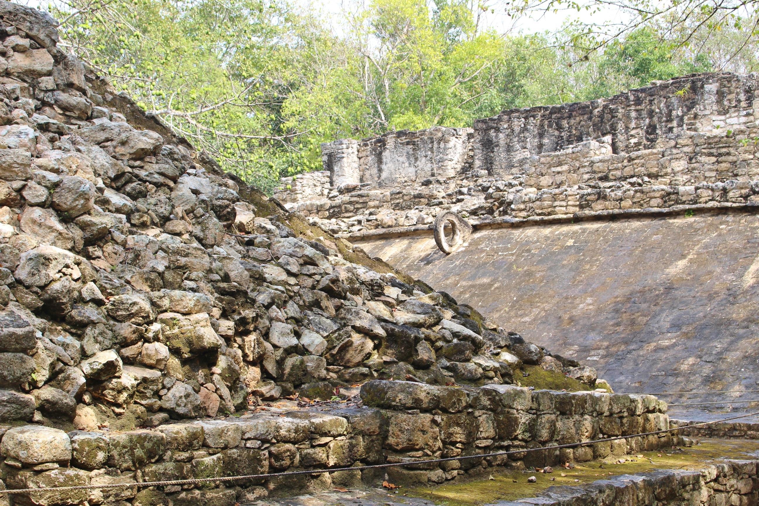 Les ruines mayas de Cobà