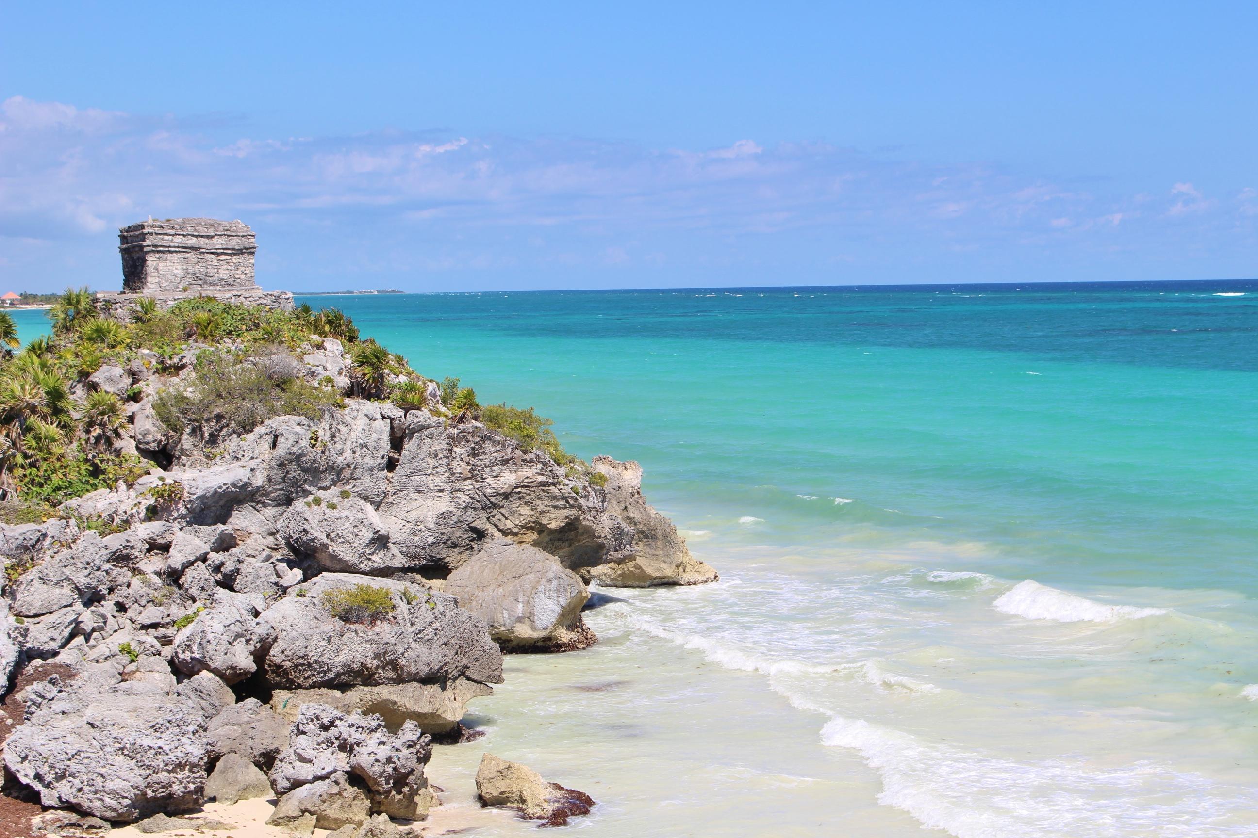 Ruines de Tulum Yucatan Mexique
