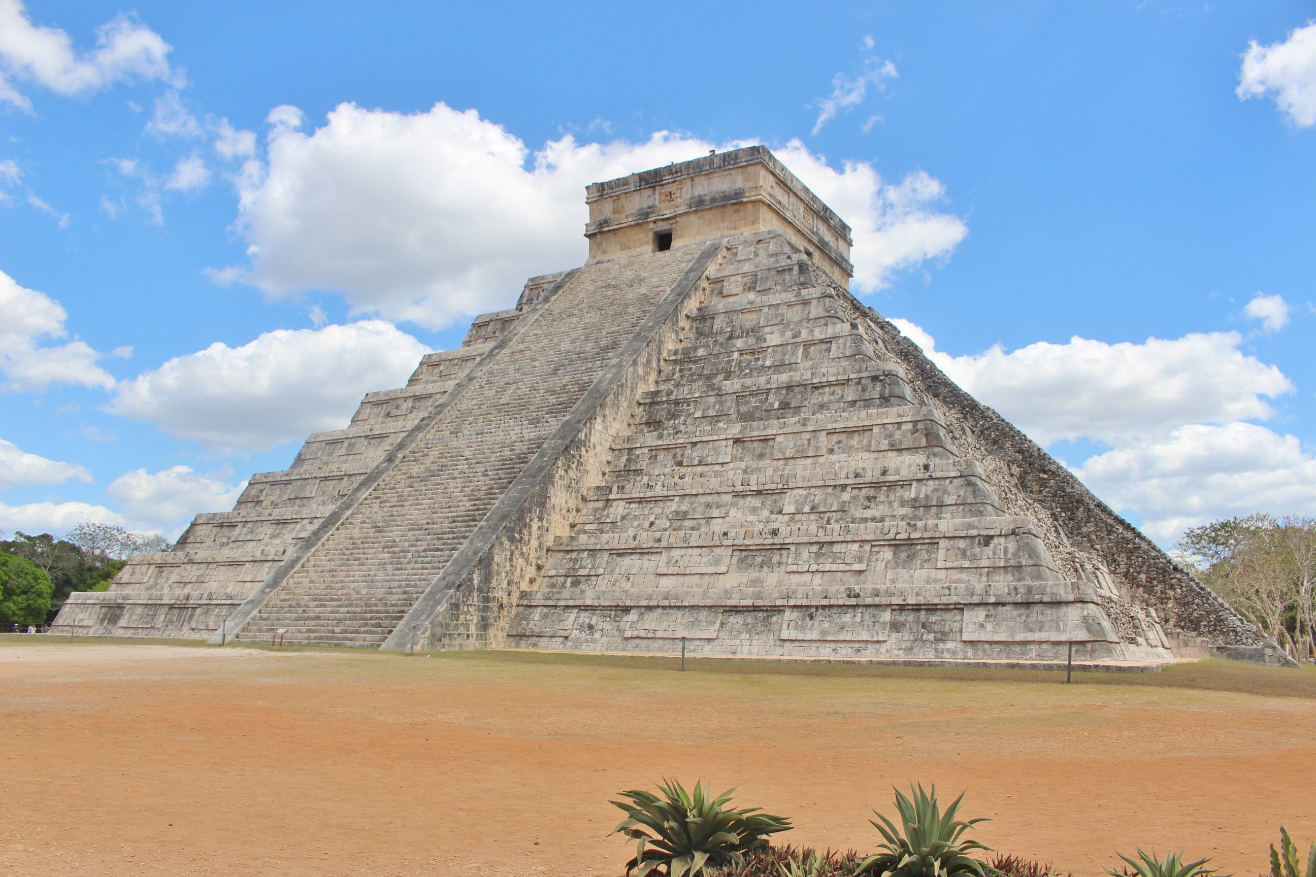 Chichen Itza Mexique Yucatan Pyramide Maya