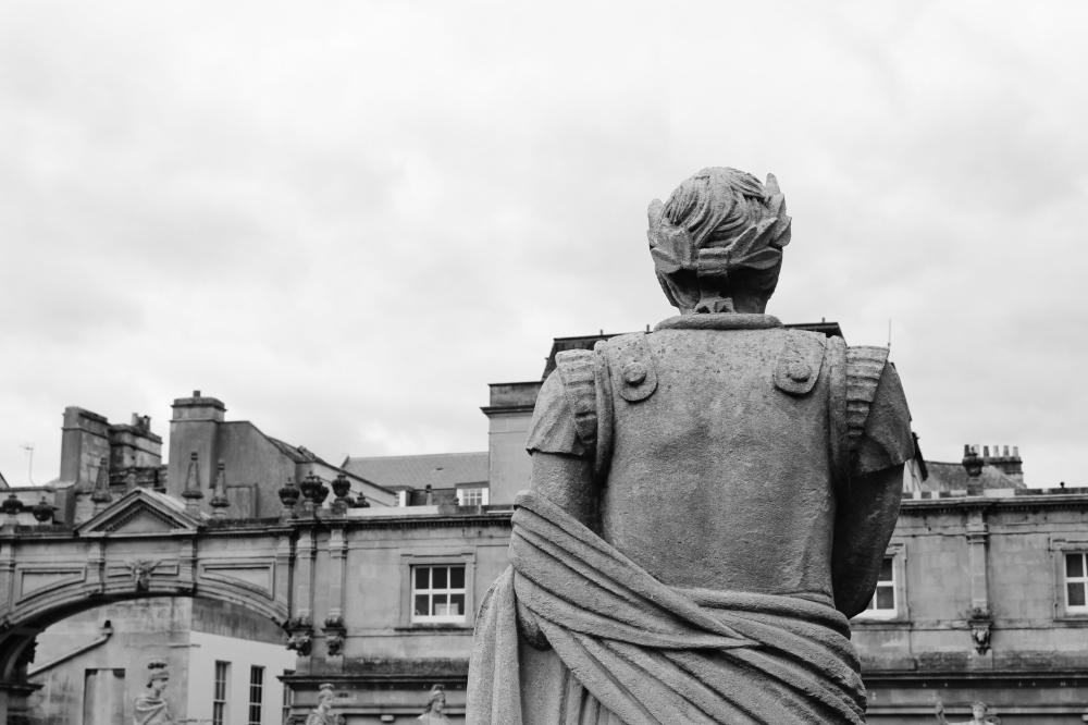 Bath ville romaine Angleterre Bain Thermes Romains