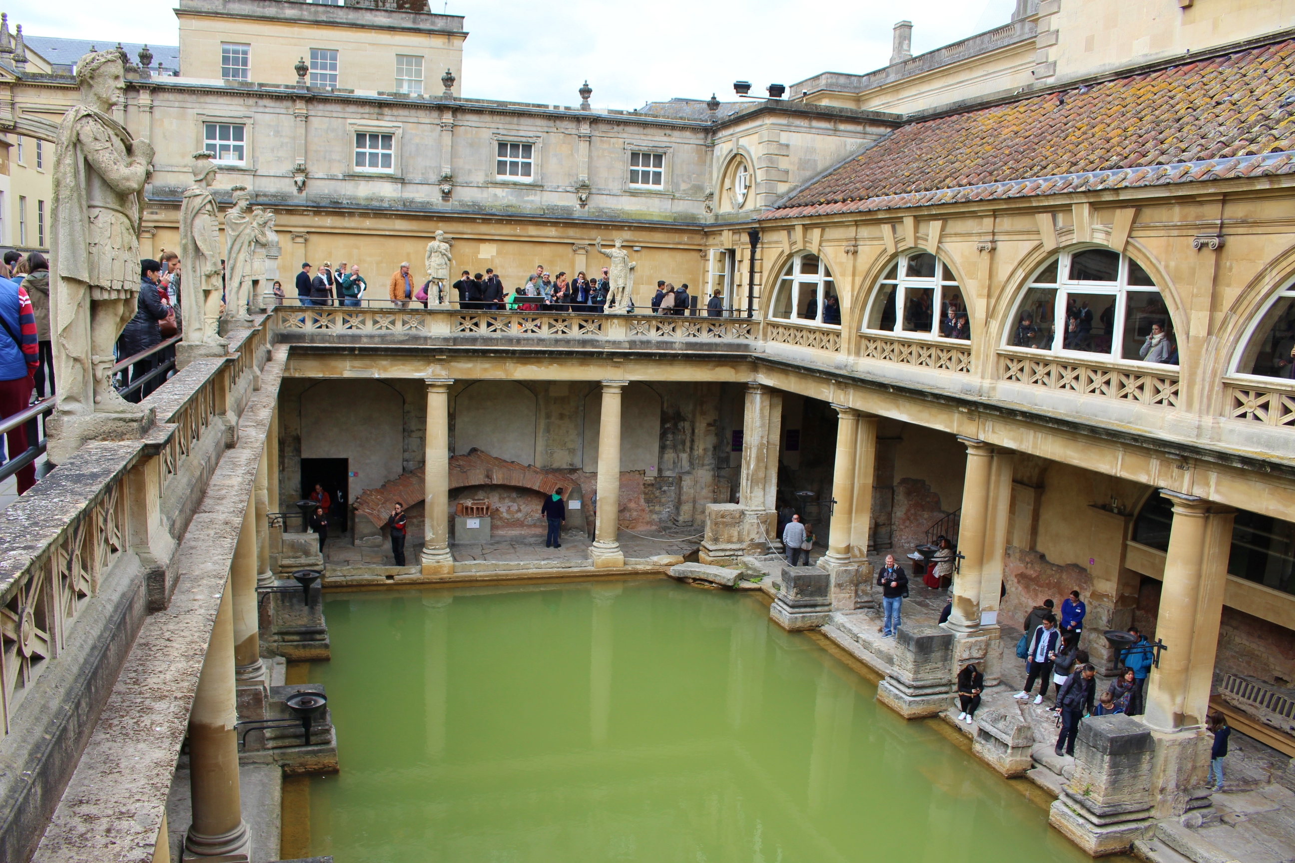 Bath Angleterre Thermes romains