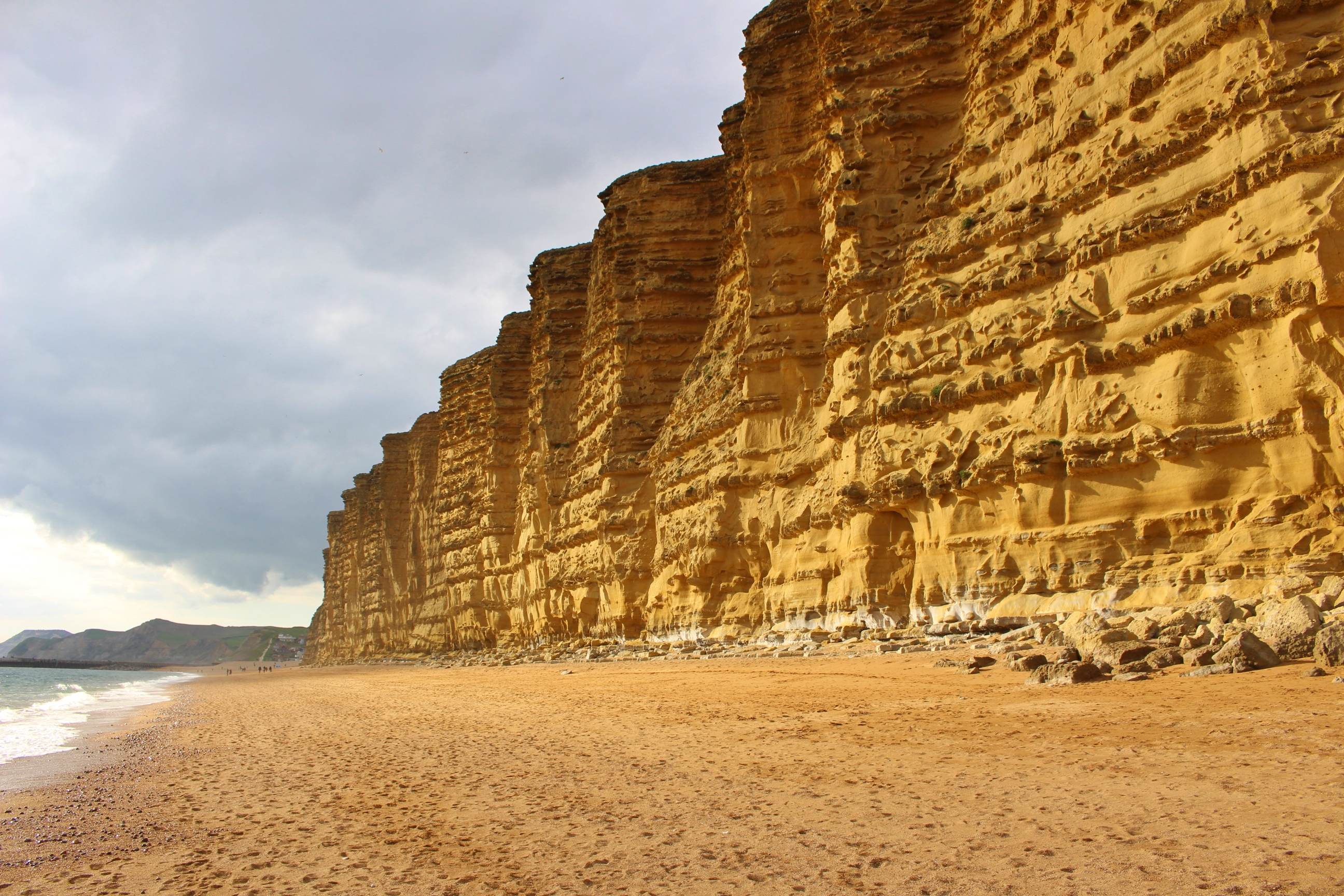 Westbay Broadchurch Sud Angleterre Falaise Cliff